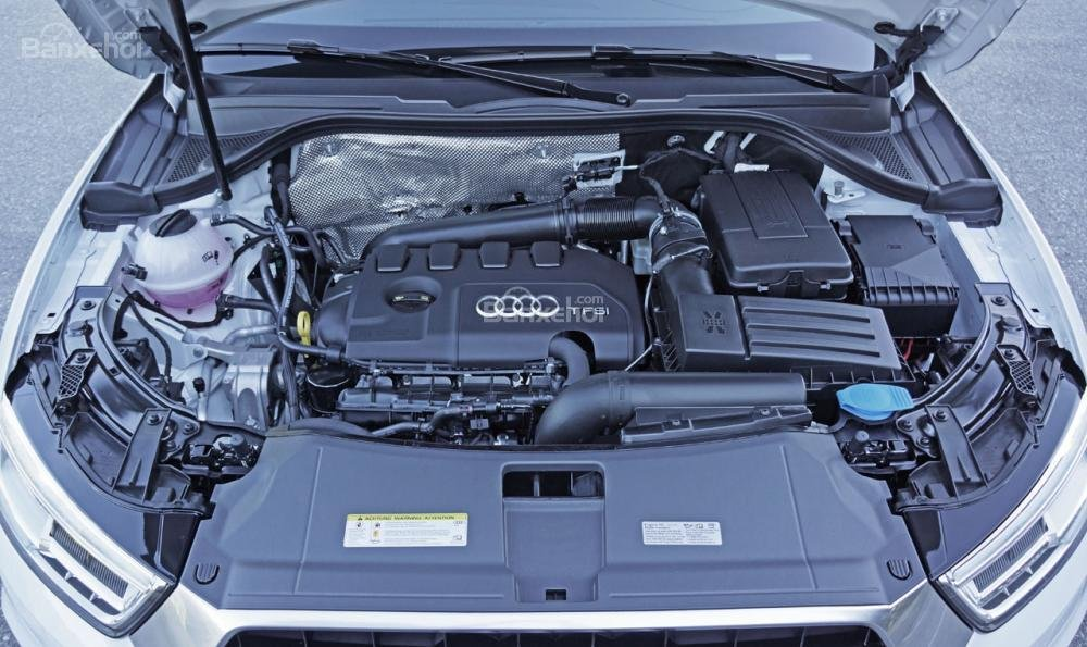 Đánh giá xe Audi Q3 2016 sử dụng động cơ 2.0 TFSI Quattro.