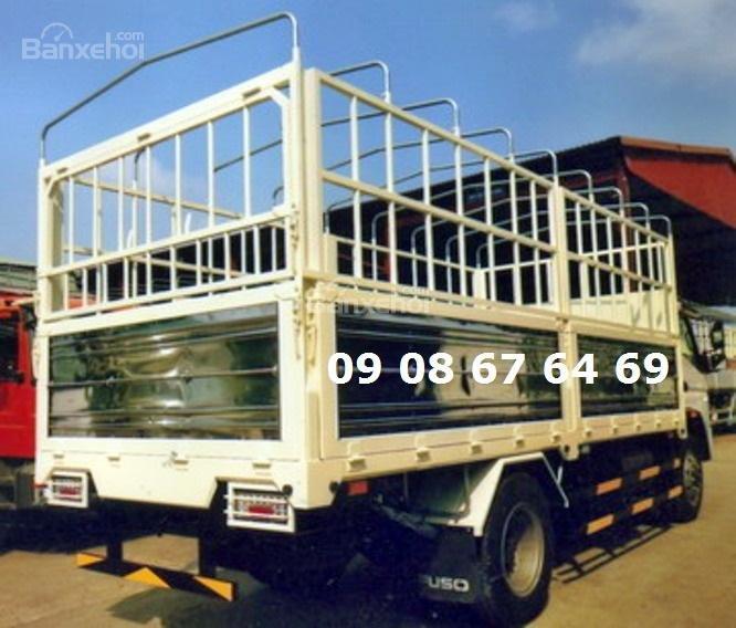 Bán Fuso-2017, màu trắng, thùng bạt giao ngay giá rẻ-2