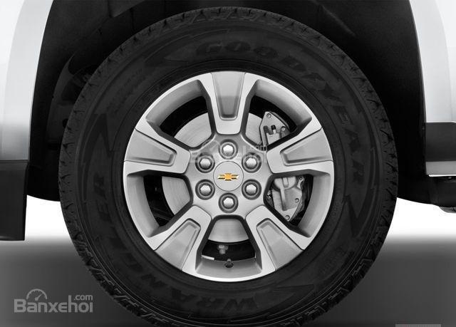 Đánh giá xe Chevrolet Colorado 2016: Mâm xe hợp kim.