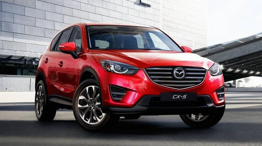 """So sánh xe Honda CR-V 2016 và Mazda CX-5 2016 - Xe Nhật """"kình"""" nhau 2"""