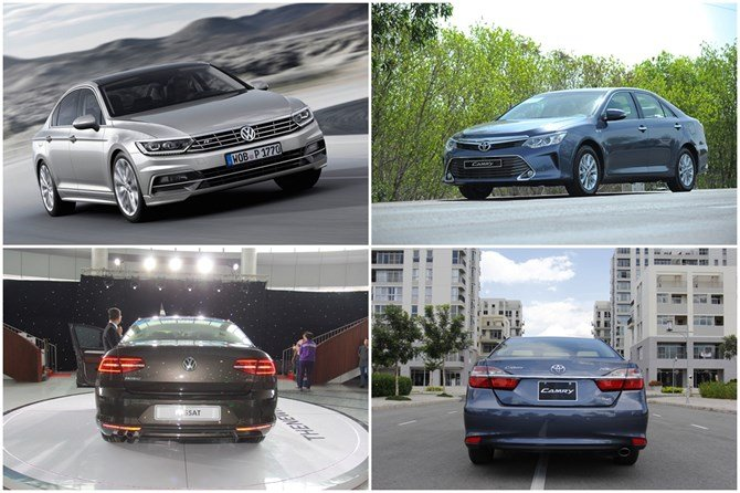 So sánh xe Toyota Camry và Volkswagen Passat: Hai thái cực đối lập trong phân khúc sedan hạng D 22