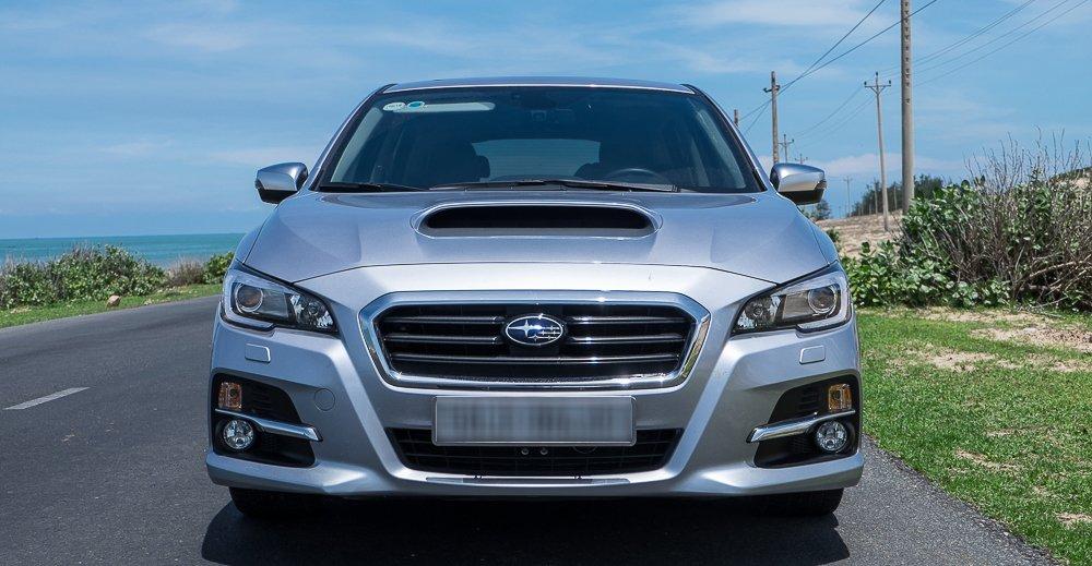 Đánh giá xe Subaru Levorg có đầu xe thiết kế phá cách hoàn toàn mới mẻ.