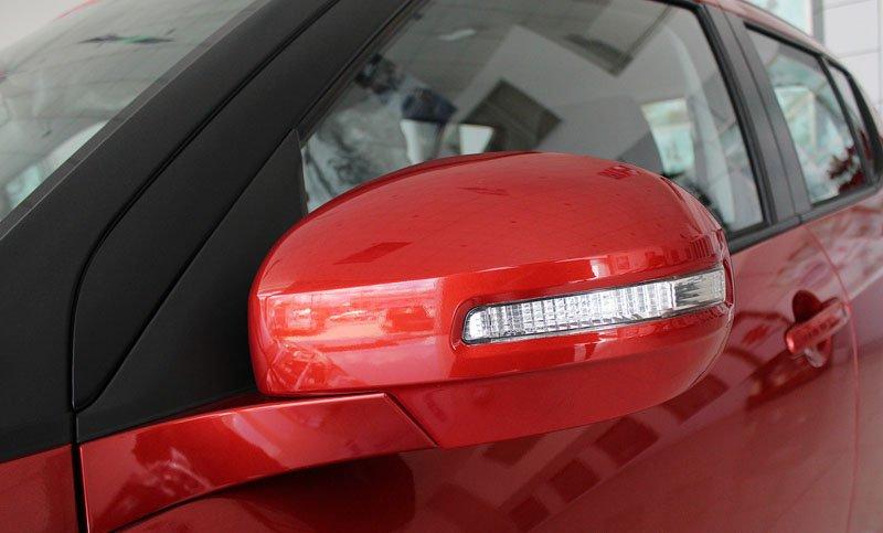 Đánh giá xe Suzuki Swift 2014 có gương chiếu hậu chỉnh/gập điện.