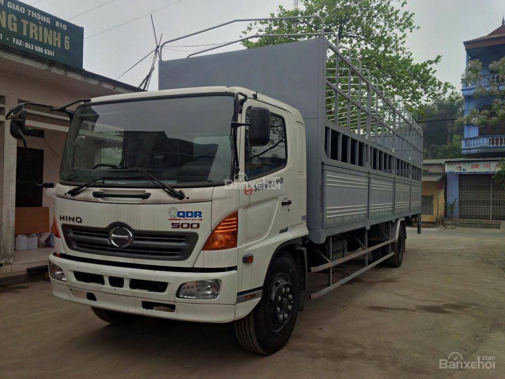 Ô tô chở xe máy, xe tải Hino chở xe máy, xe tải chở xe máy 2 tầng-0