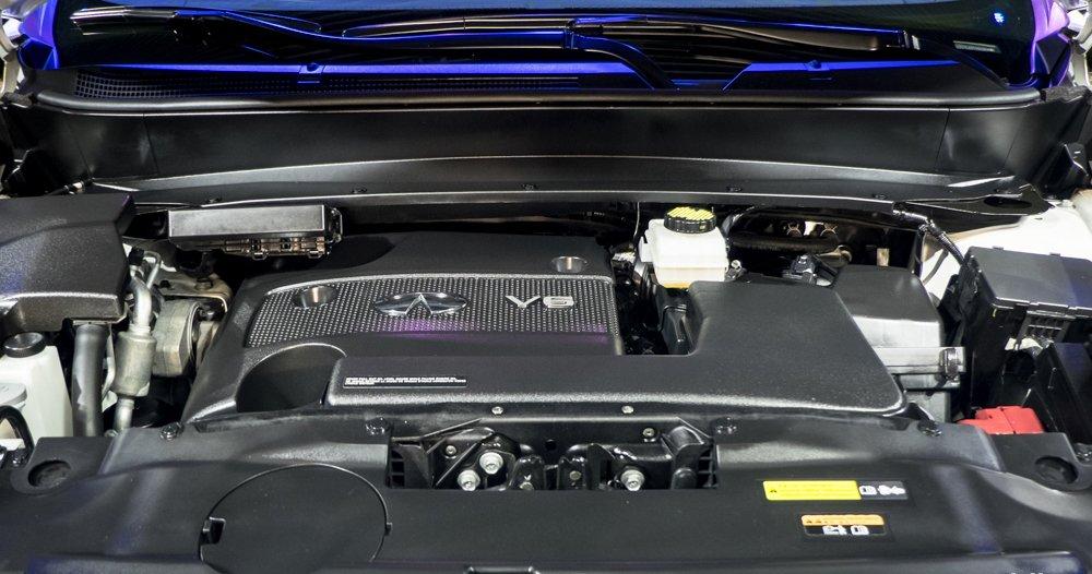 Đánh giá xe Infiniti QX60 2016 được sử dụng động cơ V6, 3.5 lít, công suất 263 mã lực.