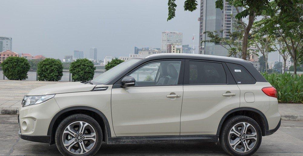 Đánh giá xe Suzuki Vitara 2015: xe được thiết kế tinh tế và hài hòa hơn Ertiga và Swift.