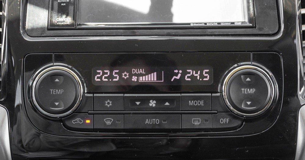 Đánh giá xe Mitsubishi Triton 2016 có điều hòa tự động 2 vùng độc lập.