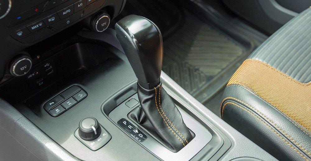 Đánh giá xe Ford Ranger 2016 có hộp số tự động 6 cấp.