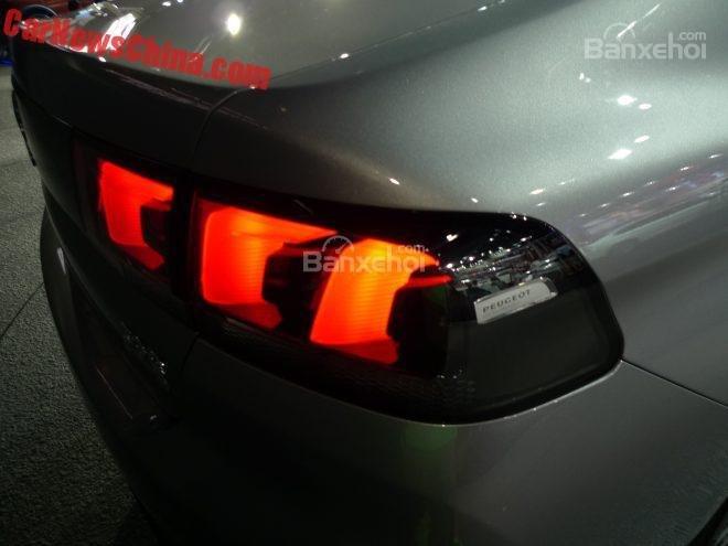 Peugeot 308 sedan mới tại triển lãm xe hơi Thành Đô 3