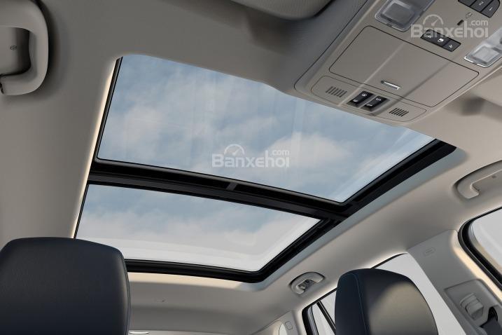 Đánh giá xe Buick Envision 2016: Cửa sổ trời điều khiển bằng điện.