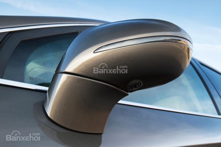 Đánh giá xe Buick Envision 2016: Thiết kế gương chiếu hậu.