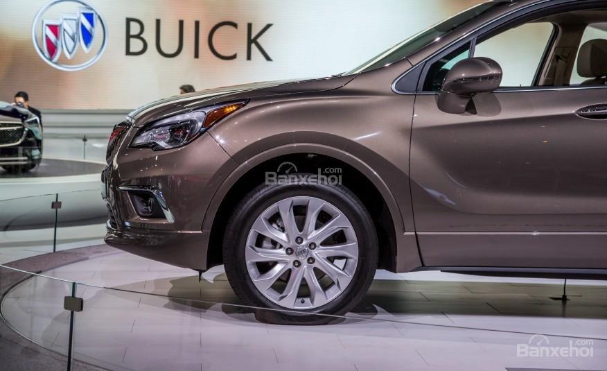 Đánh giá xe Buick Envision 2016: Phía trước thân xe.
