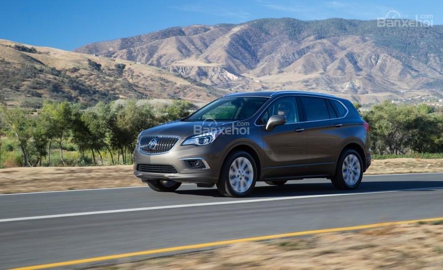 Đánh giá xe Buick Envision 2016: Xe cho cảm giác lái tự tin, nhanh nhẹn.