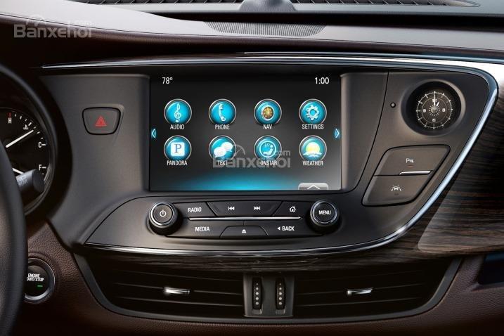 Đánh giá xe Buick Envision 2016: Xe được trang bị nhiều tiện nghi.