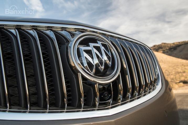 Đánh giá xe Buick Envision 2016: Lưới tản nhiệt đối xứng.
