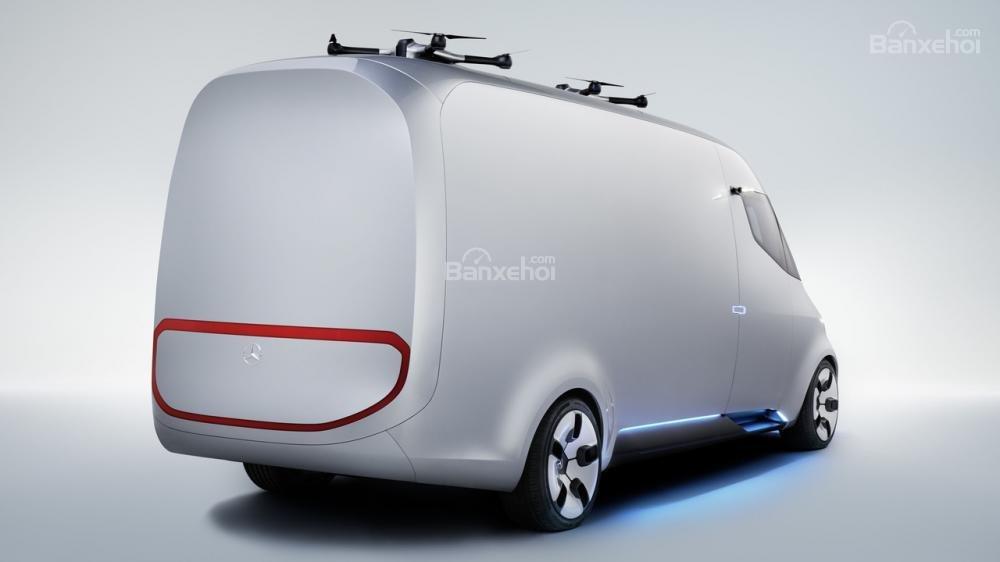 Vén màn Mercedes Vision Van concept với công nghệ chở hàng tiên tiến 1