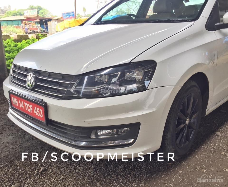Volkswagen Vento 2016 lộ diện tại Ấn Độ.
