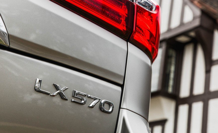 Đánh giá xe Lexus LX 570 2016.