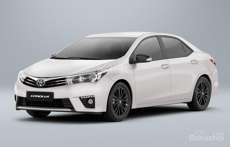 Toyota Corolla Dynamic Edition bản đặc biệt trình làng tại Brazil.