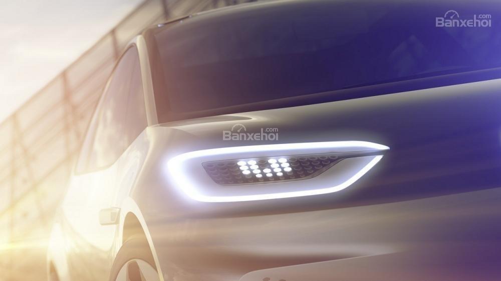 Volkswagen nhá hàng xe điện concept trước ngày trình làng tại Paris 3