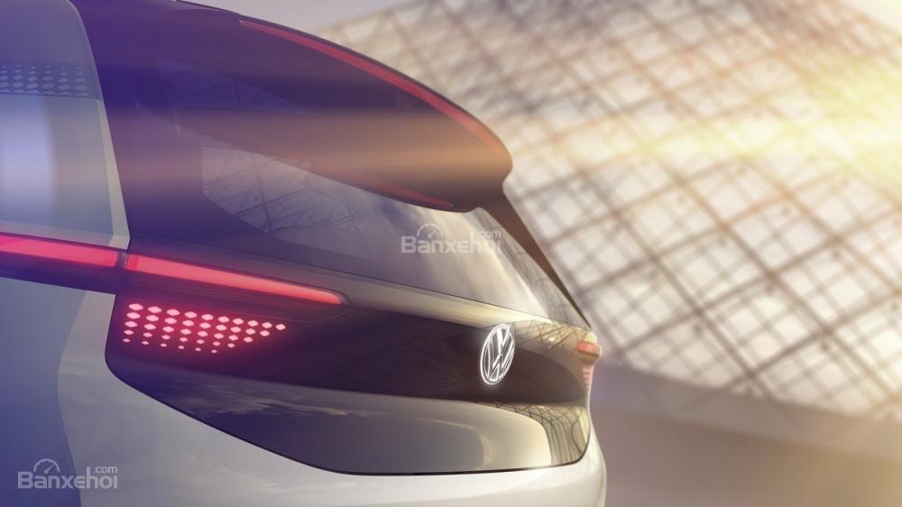 Volkswagen nhá hàng xe điện concept trước ngày trình làng tại Paris 4