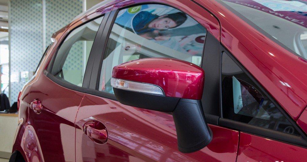Đánh giá xe Ford Ecosport 2016 có gương gập/chỉnh điện tích hợp LED xi nhan.