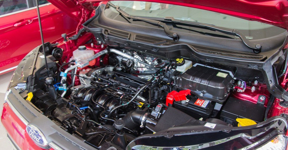 Đánh giá xe Ford Ecosport 2016 có động cơ 1.5L tiết kiệm nhiên liệu.