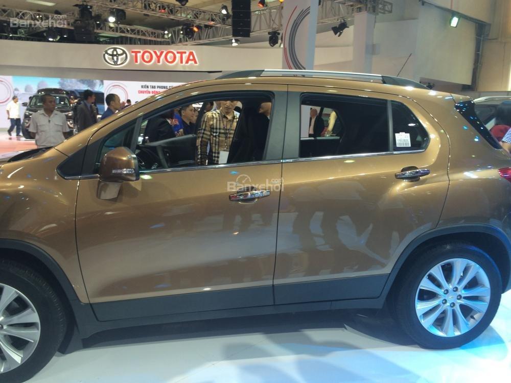 Chevrolet Trax 2017 trông như 1 phiên bản nhí của Captiva 2016 1