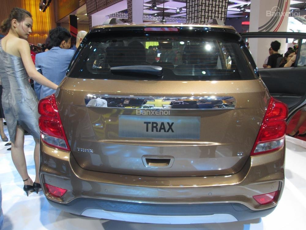 Chevrolet Trax 2017 trông như 1 phiên bản nhí của Captiva 2016 2