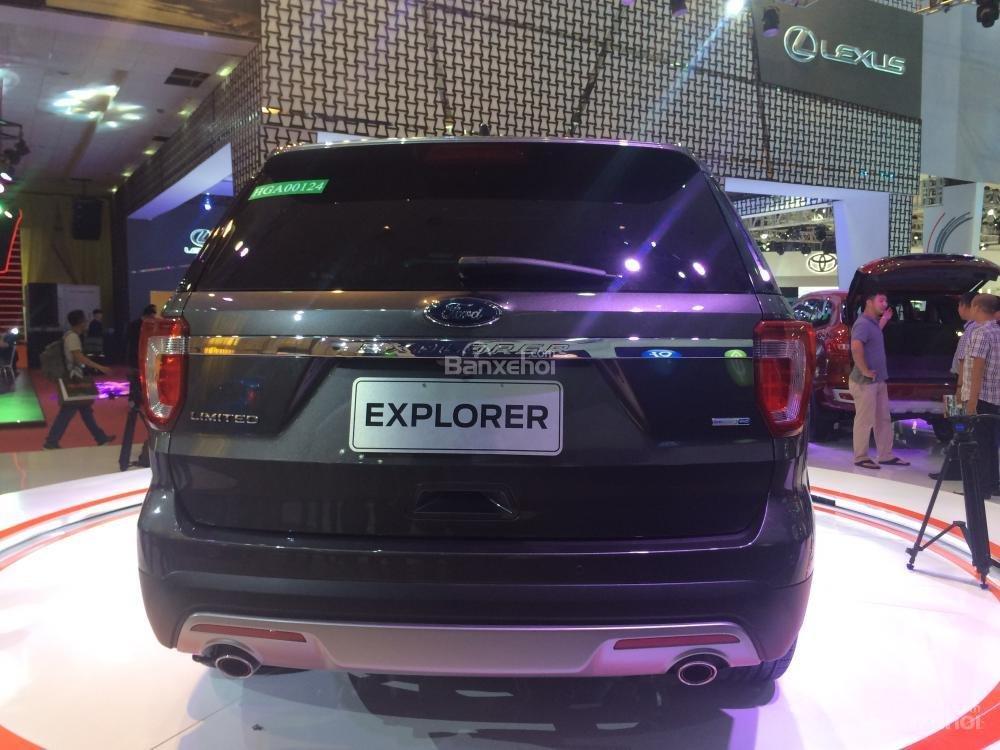 Ford Explorer thiết kế hiện đại, hầm hố và chú trọng tính thời trang 3