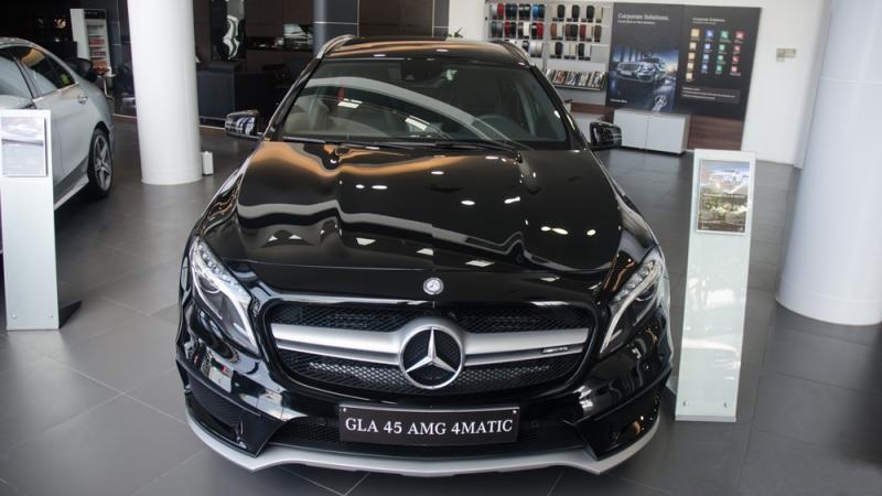 Đánh giá xe Mercedes-Benz GLA-Class 2016 có diện mạo trẻ trung và khá hầm hố.