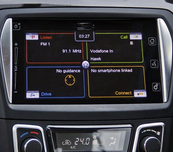 Đánh giá xe Suzuki Ciaz 2017 có màn hình cảm ứng giải trí đa năng 7 inch.