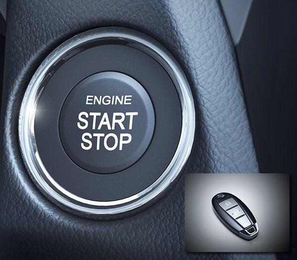 Đánh giá xe Suzuki Ciaz 2017 có chìa khóa thông minh khởi động nút bấm start/stop.