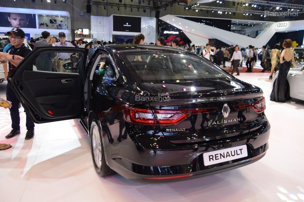 Renault Talisman sở hữu thiết kế sang trọng và đậm chất Châu Âu 3