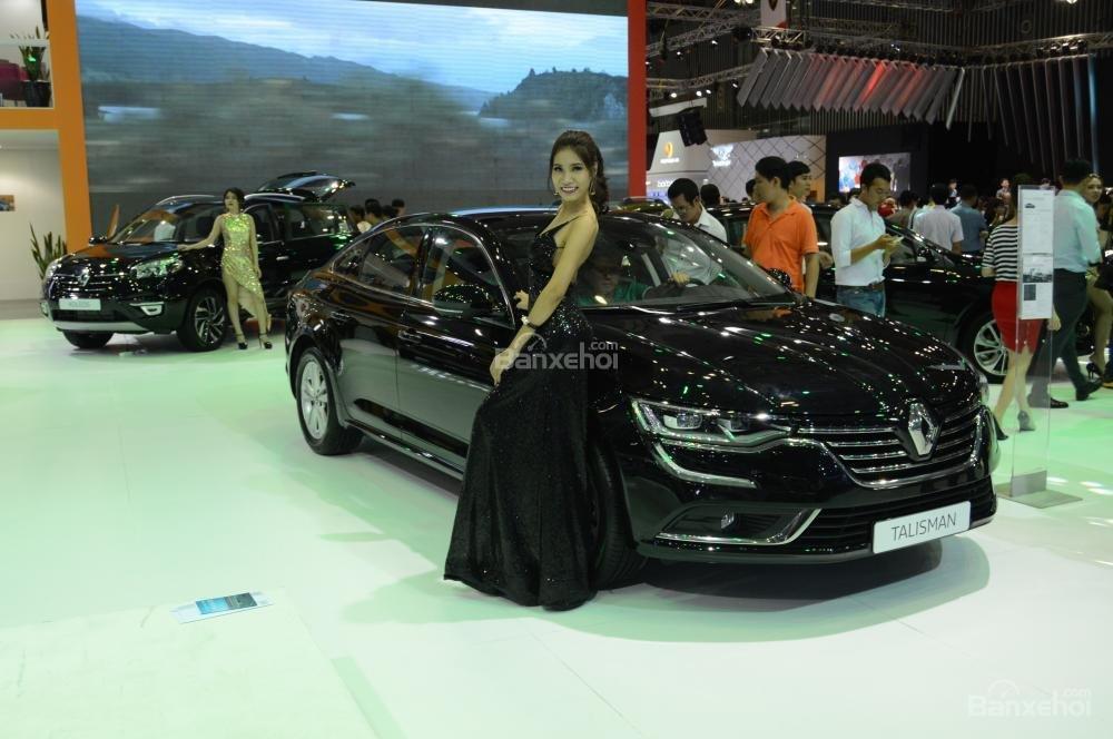 Renault Talisman sở hữu thiết kế sang trọng và đậm chất Châu Âu 2