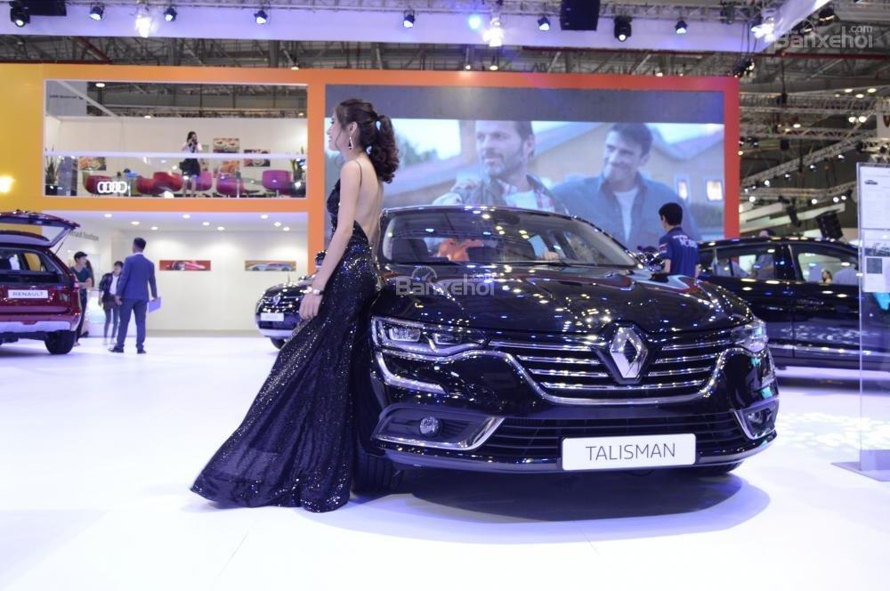 Renault Talisman sở hữu thiết kế sang trọng và đậm chất Châu Âu.