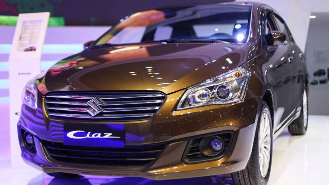 So sánh xe Suzuki Ciaz và Nissan Sunny: Lợi thế nghiêng về tân binh.