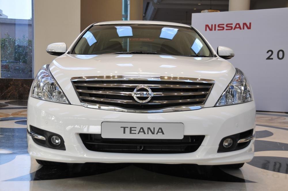 Nissan Teana có nhiều nét thiết kế mang hơi hướng Châu Âu