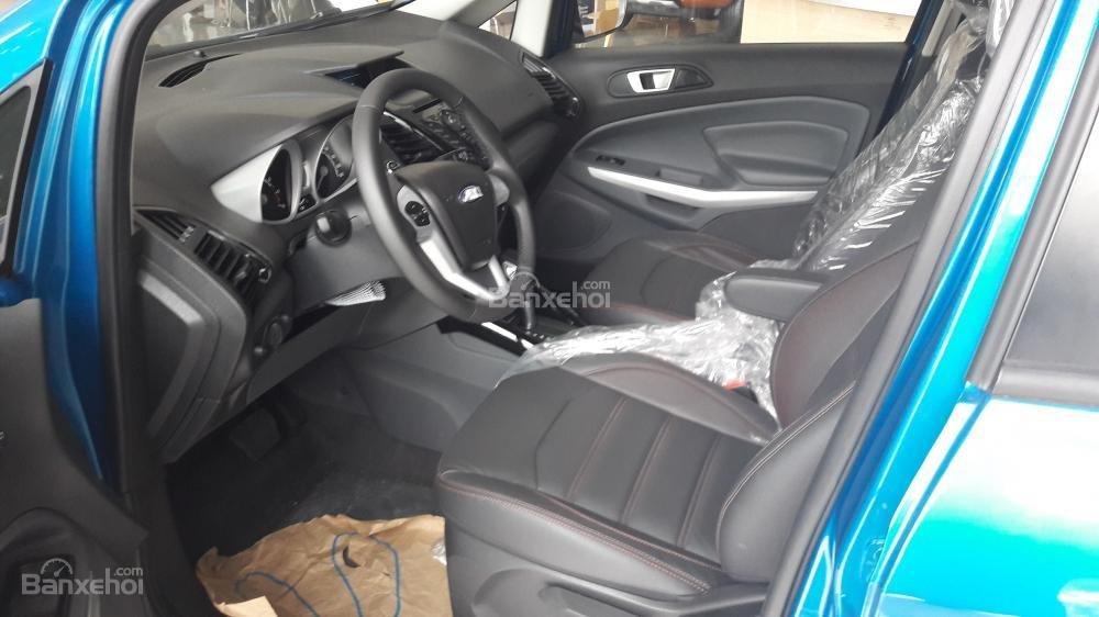 Cần bán xe Ford EcoSport Titanium đời 2017, màu xanh-7