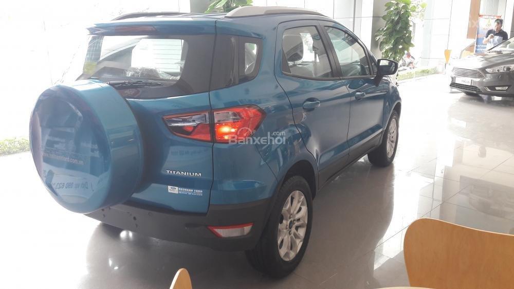 Cần bán xe Ford EcoSport Titanium đời 2017, màu xanh-2