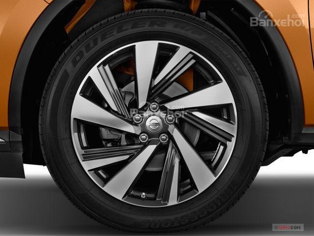 Đánh giá xe Nissan Murano 2017: Bộ la-zăng với thiết kế độc đáo.