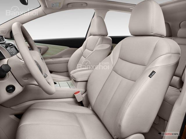 Đánh giá xe Nissan Murano 2017: Không gian ghế ngồi rộng rãi và thoải mái a1