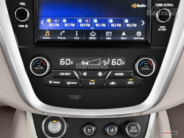 Đánh giá xe Nissan Murano 2017 về hệ thống thông tin giải trí a2