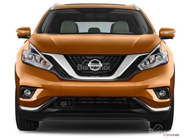 Đánh giá xe Nissan Murano 2017: Đầu xe nổi bật với lưới tản nhiệt hình chữ V a1