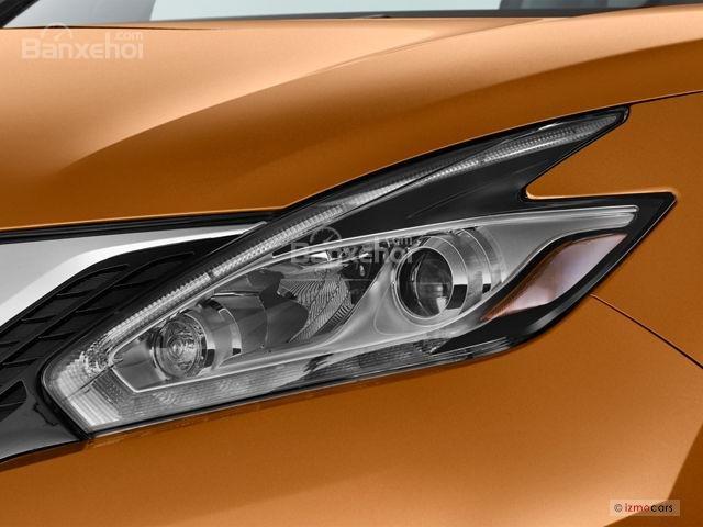 Đánh giá xe Nissan Murano 2017: Đèn pha phong cách boomerang.
