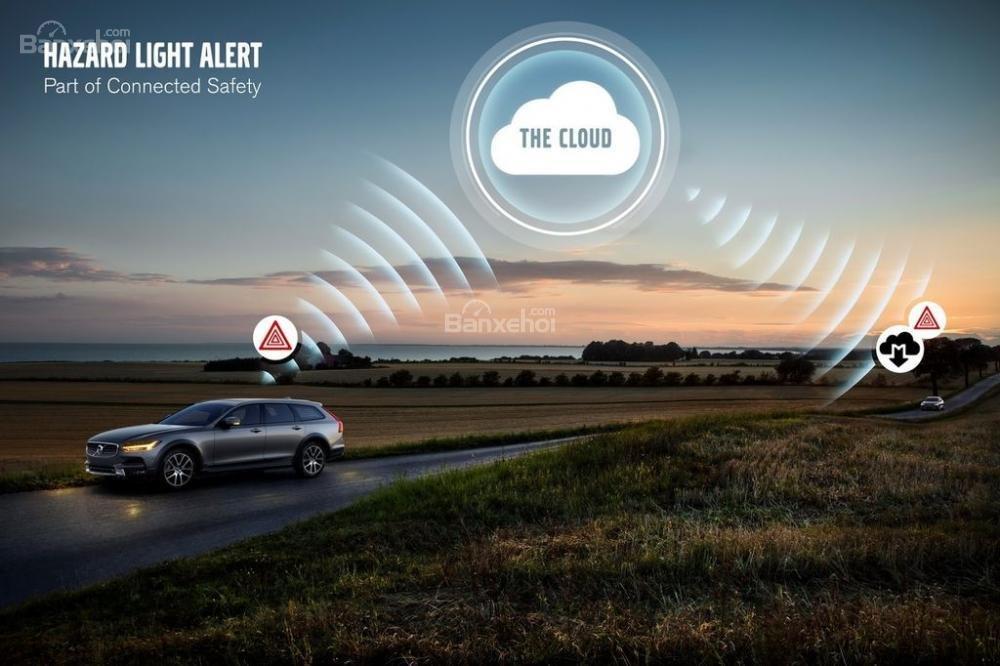 Đánh giá xe Volvo V90 Cross Country 2018: Xe có nhiều tính năng an toàn.