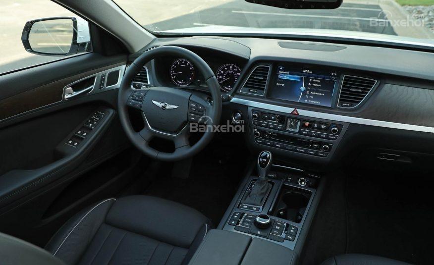 Đánh giá xe Genesis G80 2017 về hệ thống nghe nhìn a1