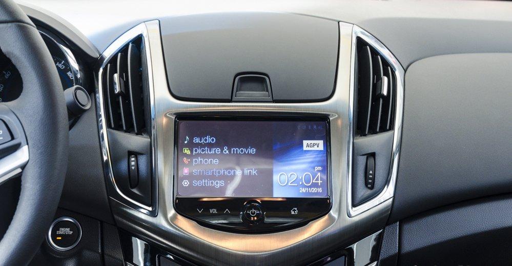 Đánh giá xe Chevrolet Cruze 2017 có màn hình cảm ứng 7 inch.