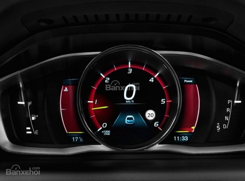Đánh giá Volvo XC60 2017 về bảng đồng hồ lái a2