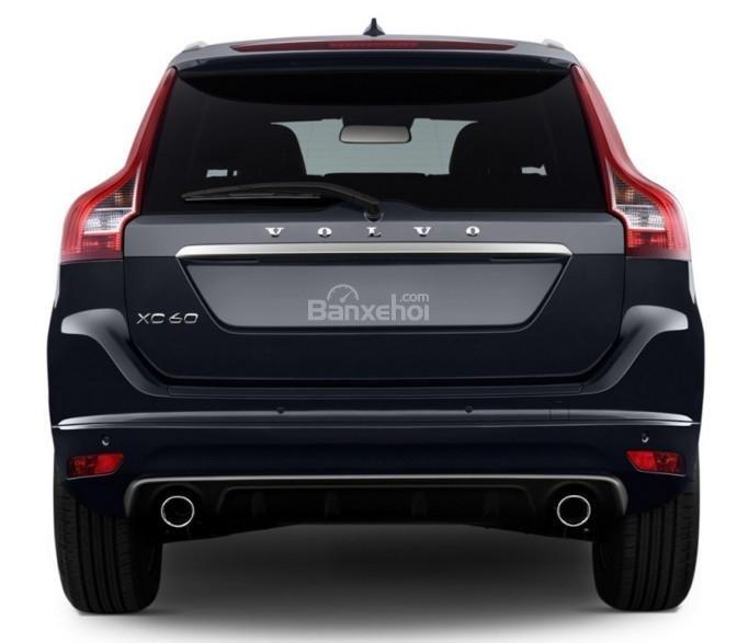 Đánh giá Volvo XC60 2017: Đuôi xe thiết kế cao và to hơn so với phần đầu.